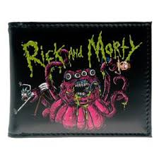 Shop amp; Wallet Morty – Novelty Wrecked Rick Riggity And Smoke
