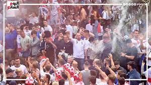 شاهد ماذا يحدث في شوارع إنجلترا.. شغب الجماهير قبل نهائي اليورو أمام  إيطاليا - YouTube