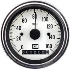 search gauges stewart warner deluxe speedometer p n 82961 wht type electrical