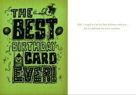 Birthday On Day Card 048 The Best Birthday Card Ever Most Confident Bald Guy Greetings