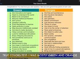 Terms in this set (27). Shocking Printable True Colors Test Prescott Website