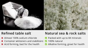 table salt. table salt