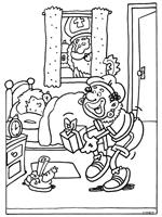Als De Kindjes Slapen Thema Sinterklaas Winter Christmas En