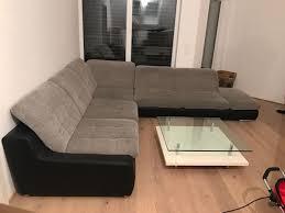 Xxl Sofa Webstoff Couch Wohnlandschaft