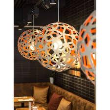orange wood bamboo lamp c moaroom new zeland