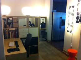 home office small shared. Wonderful Home Office Small Space Solutions Room Divider Creates Shared Intended For .