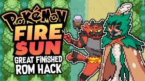 FINISHED ROM HACK!? Pokémon Fire Sun - Pokemon Rom hack - GAMEPLAY and  Download - YouTube