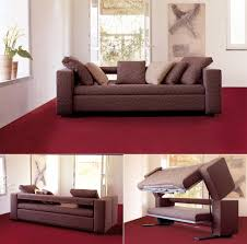Maroon Living Room Furniture Captivating Living Room Furniture Design With Space Saver