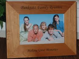 family reunion picture frame personalized souvenir frame laser engraved family gift