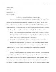 cover letter example of a analysis essay an example of a business   cover letter analytical essaysexample of a analysis essay large size
