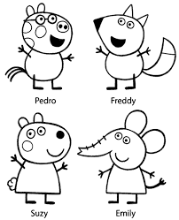 Small Picture Peppa colouring page 22 to print and color for free