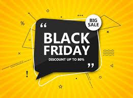 Black Friday Sale Shopping Poster Seasonal Discount Banner