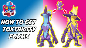 Shiny Pokemon Evolution Chart How To Get Each Toxtricity Form Pokemon Sword And Shield Toxel Evolution Method