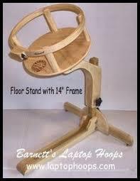 Barnett's Laptop Hoops - Floor Stand Base Only! | Quilting ... & Barnett's Laptop Hoops - Barnett's Laptop Hoops - Floor Stand Base Only!,  $169.99 ( Adamdwight.com