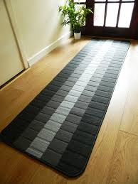 washable hallway runner rugs non slip easy clean grey kitchen carpet runners