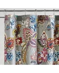 floral shower curtain. Pier 1 Imports Ashford Floral Shower Curtain A
