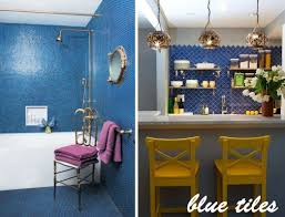 Blue Tiles For Kitchen Spruce Up Your Home With Color Blue Tiles For The Kitchen And
