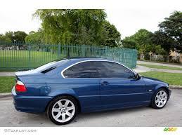 Mystic Blue Metallic 2003 BMW 3 Series 325i Coupe Exterior Photo ...