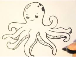 Small Picture How to Draw an OctopusHow to Draw Cartoon CharactersStep By Step