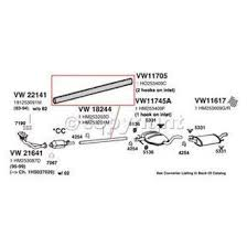 1999 volkswagen jetta replacement exhaust parts carid com autozone at 99 Jetta Exhaust Diagram