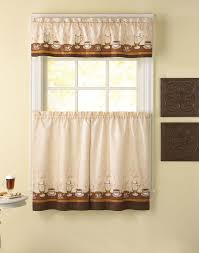 Valance Kitchen Curtains Lemon Print Kitchen Curtains Cliff Kitchen