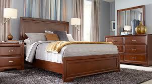 picture of bedroom furniture. belcourt cherry 5 pc queen panel bedroom picture of furniture n