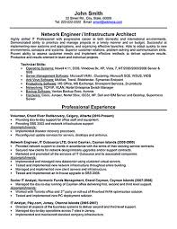 Sample Resume It Support Engineer Format For Hardware And Network