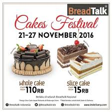 Breadtalk Indonesia Gelar Year End Cakes Festival Pelita Batak Online