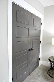 interior doors painted with kwal paint in the color brainchild
