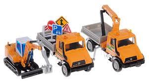 Набор техники <b>Welly</b> Строительная техника (<b>99610</b>-3B) — купить ...