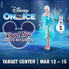 Target Center Seating Chart For Frozen On Ice Target Center