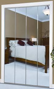 bi fold mirror closet door. Silver Mirror \u0026 Arctic Framework Bi Fold Closet Door O