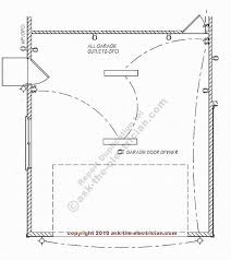 install garage electrical wiring garage blueprint and wiring design layout