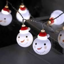 Indoor Snowman Lights Us 3 49 30 Off 2m Snowman Led Fairy String Lights Santa Led Christmas Light Home Garden Indoor Party Wedding Christmas Decoration Light In Led