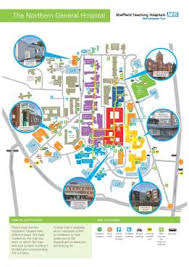 please on icon below for the site map for the northern general hospital and travel guide if you are using satnav the postcode for the hospital