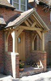 Oak Porch - Sawn Green Oak. Would really like a porch on the front of our  house. | Interior Barn Doors | Pinterest | Porch, House and Front doors