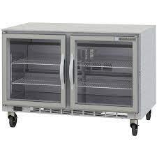 25 60 glass door undercounter refrigerator