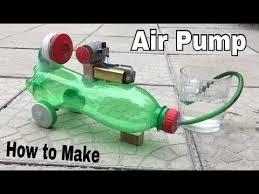 compresor de aire casero. cómo hacer un mini compresor de aire (potente bomba aire) con botella plástico - tutorial casero