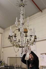 restoration project antique chandelier from frame to fairy tale image 2
