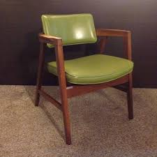 mid century modern office chairs. vintage gunlocke walnut office chair mid century modern danish green chairs e