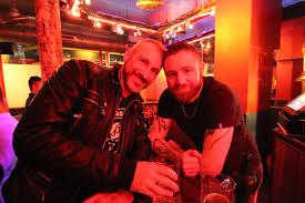 Action at gay bars