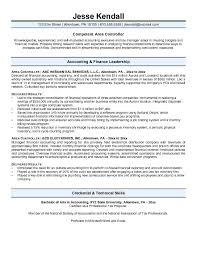 Controller Resume Examples Best Corporate Controller Resume Samples Kubreeuforicco