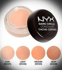 Nyx Professional Makeup Dark Circle Concealer Light Nyx Professional Makeup Dark Circle Concealer Medium Health