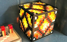 a redstone lamp with a switch set on it will act simply like a standard strong piece implying that if a redstone lamp is fueled it self control the square