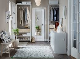 bedroom design ikea. A Hallway With Floor-to-ceiling Storage, Consisting Of White Shelves, Clothes Bedroom Design Ikea M