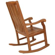 home furniture outdoor wooden rocking chair solid teak assembled for chairs remodel 3