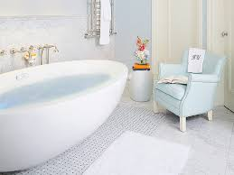 large freestanding jetted bathtub spa