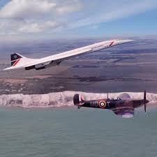 spitfire gifts. concorde and spitfire greetings card gifts