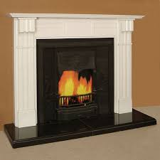 the cairo marble fireplace