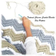 Chevron Crochet Blanket Pattern Fascinating Textured Chevron Crochet Blanket Pattern The Gift Of Knitting